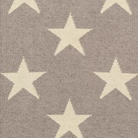 Dash And Albert Star Rug Grey 91 X 152 Cm
