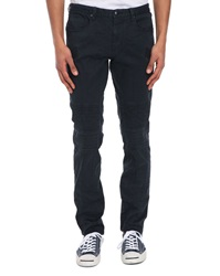 Ikks Untailored Navy Trousers