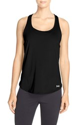 Women's Under Armour 'Fly By' Running Tank Black