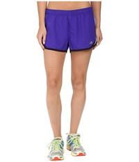 New Balance Accelerate 2.5 Short Spectral Aquarius Women's Shorts Gray