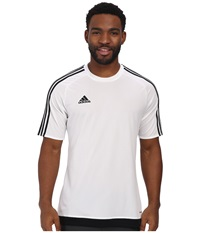 Adidas Estro 15 Jersey White Black Men's Short Sleeve Pullover