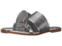 Enzo Angiolini Jioni Silver Synthetic Women's Slide Shoes