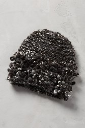 Anthropologie Knitted Loops Beanie Grey