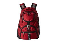 High Sierra Access Backpack Brick Black Backpack Bags Red