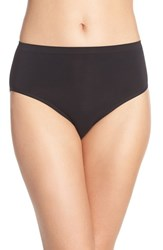 Women's Nordstrom Lingerie Seamless Full Briefs Black