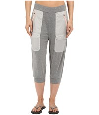 Merrell Around Town Cropped Pants Concrete Heather Women's Casual Pants Gray