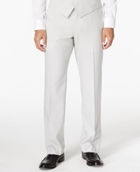 Sean John Men's White And Black Stripe Classic Fit Pants