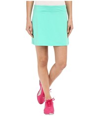 Puma Solid Knit Skirt Mint Leaf Women's Skort Blue