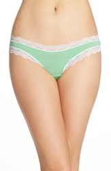Cheekfrills Women's Lace Trim Bikini Green Salad
