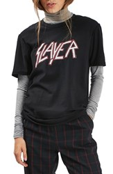 Topshop Women's By And Finally Slayer Graphic Tee