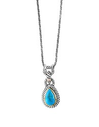 Effy Turquoise Goldplated Sterling Silver Necklace