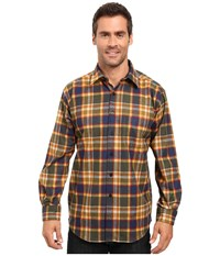 Pendleton L S Lodge Shirt Badlands Multi Plaid Men's Long Sleeve Button Up Brown