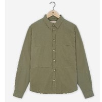 Realm And Empire Lichen Long Sleeve Patched Shirt