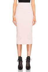 Nicholas Ponti Long Pencil Skirt In Pink Neutrals