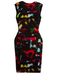 Osklen Abstract Print Open Back Dress Multicolour