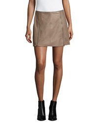 Joie Loula Double Zip Mini Skirt