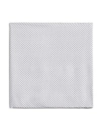 Bloomingdale's The Men's Store At Pindot Pocket Square White Navy