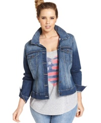 Jessica Simpson Plus Size Pixie Denim Jacket Jefford Wash Jefford Jefford