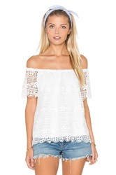 Bb Dakota Polly Top White
