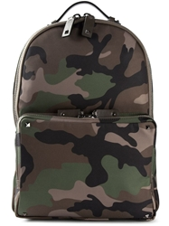 Camouflage Backpack Green