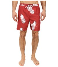 O'neill Colada Volley Boardshorts Red Brick Men's Swimwear Gold