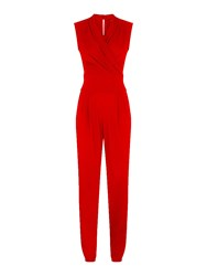 Hotsquash Jumpsuit With Clevertech Red