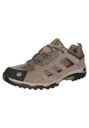 Jack Wolfskin Vojo Hike Texapore Hiking Shoes Dark Sulphur Light Brown