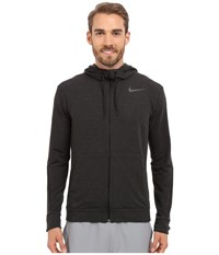 Nike Dri Fit Fleece Full Zip Training Hoodie Black Black Men's Sweatshirt