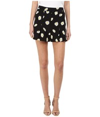 Kate Spade Daisy Dot Silk Shorts Black Women's Shorts