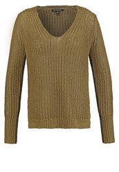 Banana Republic Chunky Easy Jumper Olive
