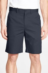 Men's John W. Nordstrom Supima Cotton Flat Front Trouser Shorts Ink