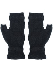 Lainey Keogh Fingerless Gloves Black