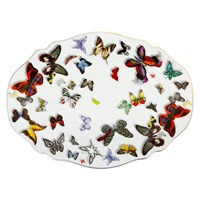 Christian Lacroix Butterfly Parade Platter Small