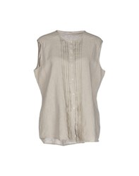 Ekle' Shirts Shirts Women Dove Grey