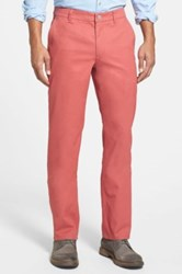 Bonobos Slim Fit Washed Chinos Red