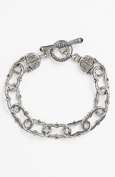 Konstantino 'Classics' Link Toggle Bracelet Silver