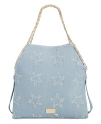 Inc International Concepts Kadi Denim Large Tote Only At Macy's Denim Stars