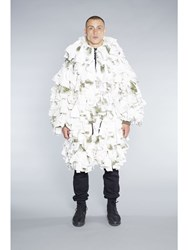 Christopher R Burn Remade Schneetarn Parka White