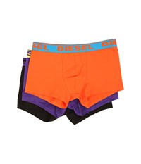 Diesel Shawn Trunk Gafn 3 Pack Multi Purple Men's Underwear Pink