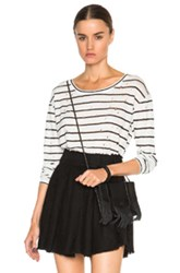 Iro Sepia Tee In Stripes White
