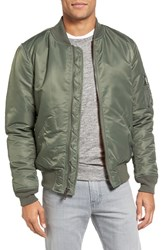 Schott Nyc Men's Ma 1 Flight Jacket Sage