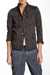 Marrakech Henley Jacket Black