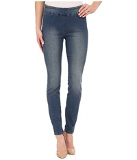Miraclebody Jeans Joey Pull On Denim Leggings Hemingway Women's Casual Pants Blue