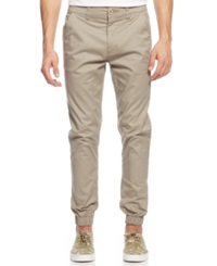 Royal Premium Denim Roy Twill Jogger Pants Khaki