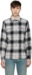 Levi's Grey Plaid Worker Shirt