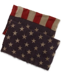 Denim And Supply Ralph Lauren Polo Ralph Lauren Washed Wool Flag Scarf American Flag