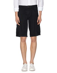 Armani Jeans Trousers Bermuda Shorts Men Black
