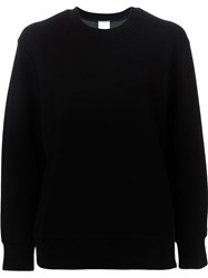 Cityshop Side Zip Detail Cuffed Sweatshirt Black