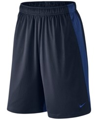 Nike 10 Dri Fit Monster Mesh Shorts Obsidian Royal Blue