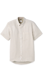 Apolis Striped Shirt Natural White